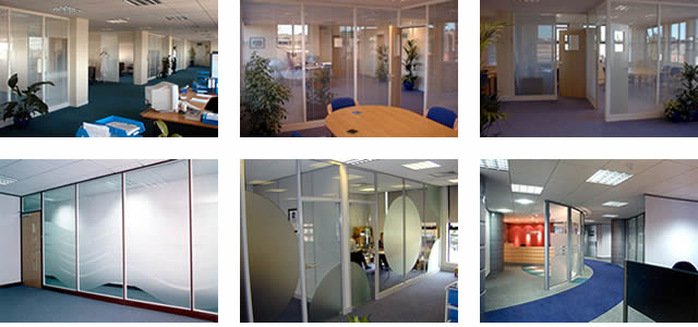 600 series office partitioning