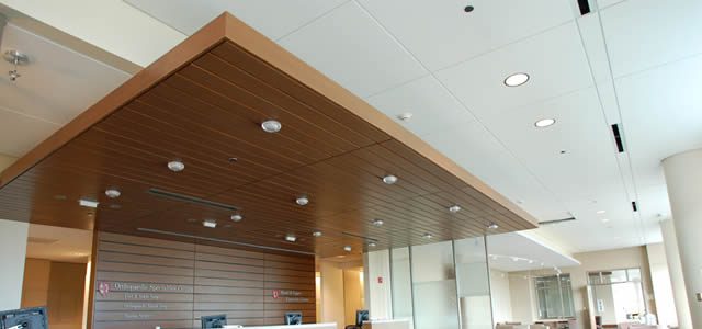 office ceilings - suspended ceilings